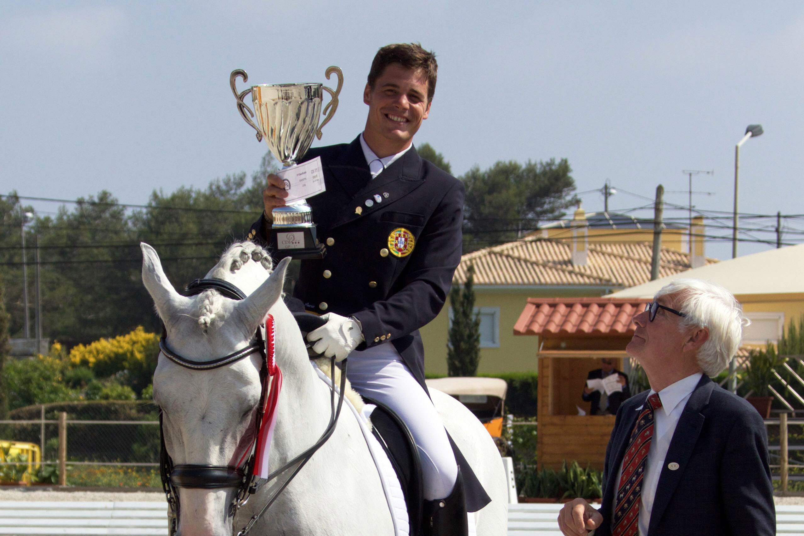 Victory in the Grand Prix CDI 3* Cascais